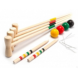 Игра КРОКЕТ DE 0100 (Croquet Set), Bradex