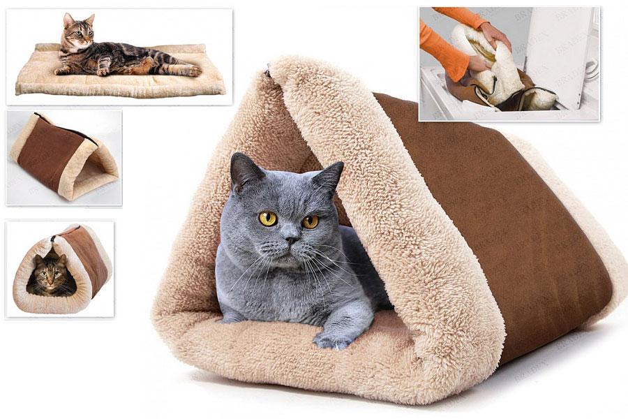 Как сшить для кота подстилку 31